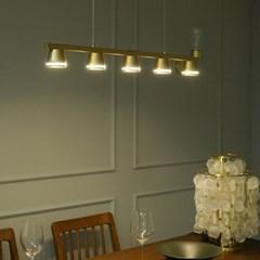 벨 LED 갓등 골드 국산 식탁등 조명