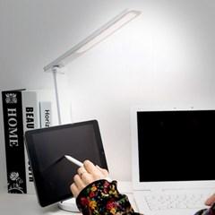 레토 무선 방식의 학습용 LED스탠드 (LLU-B16) 핸드폰거치