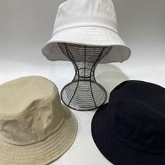 베이지 화이트 깊은 대두 패션 버킷햇 벙거지 모자