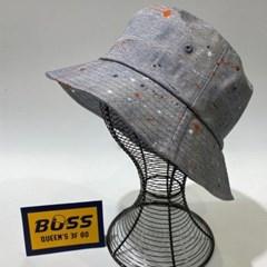 스틀래터 검정 연청 챙넓은 패션 버킷햇 벙거지 모자