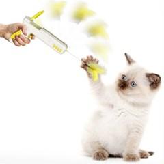묘심 고양이장난감 깃털건 색상랜덤발송