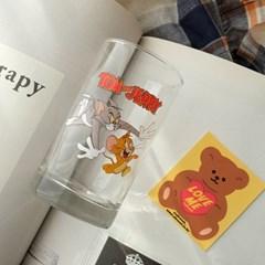 모애 레트로감성 홈카페 디자인 톰과제리C 유리컵