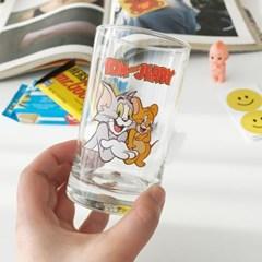 모애 레트로감성 홈카페 디자인 톰과제리A 유리컵