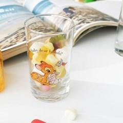 모애 레트로감성 홈카페 디자인 아기사슴 밤비F 유리컵