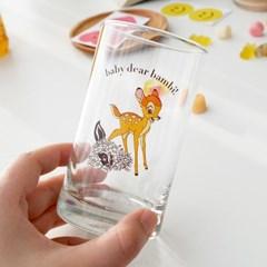 모애 레트로감성 홈카페 디자인 아기사슴 밤비B 유리컵