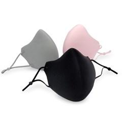 빨아쓰는 겨울 방한 마스크 3D 입체 무봉제 패션 마스크