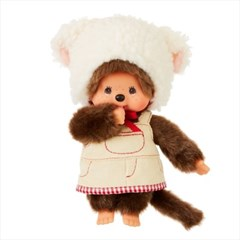 Fluffy CHAMUS Monchhichi S Girl (SFDS Limited)