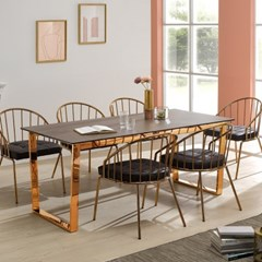 [데코마인] 델지 세라믹 1700 6인용 식탁 테이블