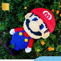 레고 슈퍼마리오 어려운 중국 레고 블록 중국 테크닉 플