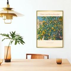 인테리어 액자 포스터 세서미프린츠 테오 반 리셀베르그 레몬나무