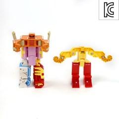 아쿠아테라 알파벳 변신로봇/장난감 로보트 합체로봇