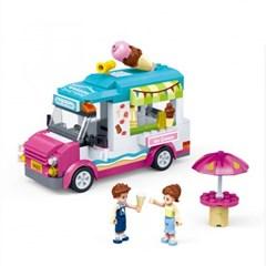 모던걸즈 아이스크림카 9603 /여아용 블럭 어린이선물