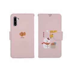 하푼 아이폰6 6S 겨울동물 사피아노 다이어리케이스