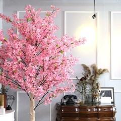 인조나무 인테리어 조화 라일락나무 190cm 핑크_(2310118)