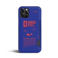 ITALK  독도 카드 포켓 휴대폰 케이스