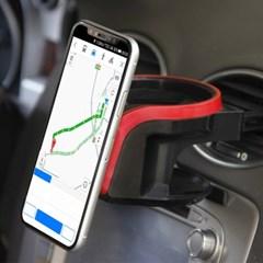 스마트폰거치 자동차컵홀더 / 차량용 송풍구컵홀더