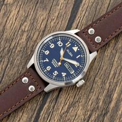 세이코 알바 오토매틱 남성 메탈 손목시계 AL4207