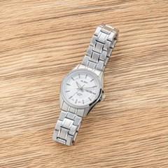 세이코 알바 정품 여성 방수 메탈 손목시계 AN8027