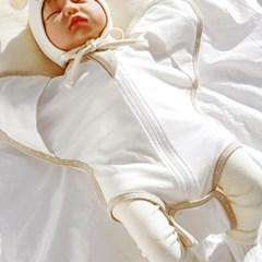 [메르베] 신생아 아기 베이직 달잠 바디슈트_(1582587)