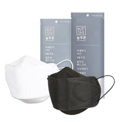 국내산KF94 보건용 마스크 블랙 100매(대/중형)