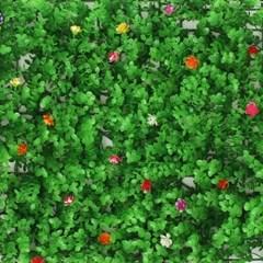 숲인테리어 들꽃 벽장식 인조잔디 조경잔디