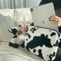 무우스튜디오 밀크 카우 노트북 아이패드 파우치 13인치