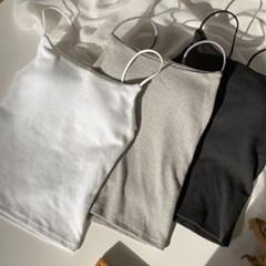 겨울 기모 나시 베이직 여성용 민소매 3color