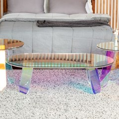 홀로그램 레인보우 1200 거실 소파 테이블_(1600492)