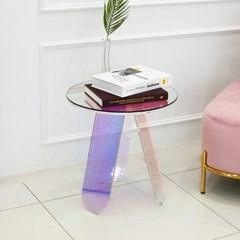 홀로그램 레인보우 450 거실 소파 테이블_(1600450)