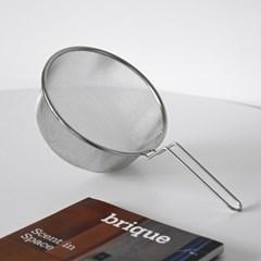 간편한 데치기 스텐 건지게 튀김망 채반 20cm_(1790915)