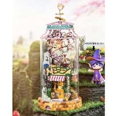 DS004 매직카페  (DIY Glass Miniature Dollhouse) 로보타임