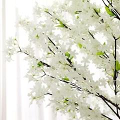 인조나무 인테리어 조화 라일락나무 230cm 화이트_(2311316)