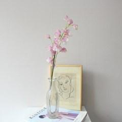 파스텔 스위트피 조화꽃가지 장식(3color)