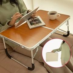 휴대용 다용도 접이식 미니 침대 테이블 베드트레이