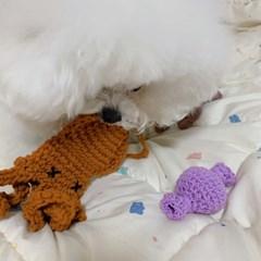 개달당 한치 노즈워크 강아지 장난감 분리불안해소 두뇌개발 장난감