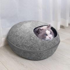 러브펫 반려동물 에그하우스 고양이 숨숨집 방석