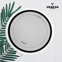 바네사 원형1구인덕션(W)+양면보호매트세트