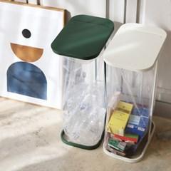 [리본제이]레트로 가비지백 스탠드 분리수거함 쓰레기봉투