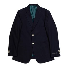 봄 남자 정장 금장단추 투버튼 무지 블레이져 싱글 자켓