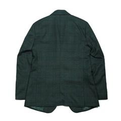 봄 남자 루즈핏 투버튼 블레이져 체크 싱글 정장 자켓