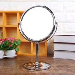 스탠드 원형 양면거울/화장대거울 탁상거울