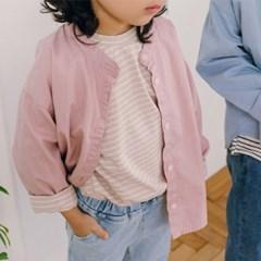 츄) 오픈헨리넥 아동 셔츠-주니어까지