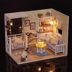 청년토이 DIY 미니어처 고양이 하우스