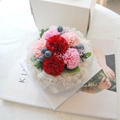 비누꽃 플라워케이크 토피어리 부모님선물