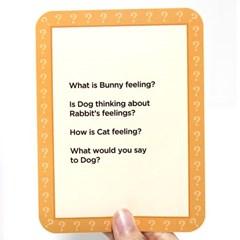 [이부] 아이헐드유얼필링 영어카드 /5세이상 표정 제스