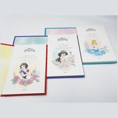 디즈니 프린세스 컬러링 엽서북
