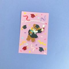 졸업베어 엽서&엽서카드