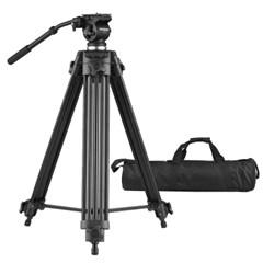 본젠 VT-928Q 방송용 비디오 카메라 삼각대 + KV-157N 돌리 SET
