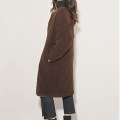 보아털 리버시블 양면 코트 3color