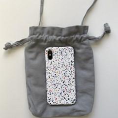 [바로배송] 미니 코튼 복조리 핸드폰가방